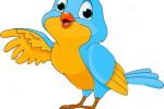 Chú chim sáo xanh